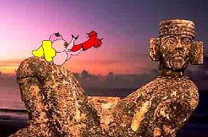 Por el Mundo, Lady Milk y Baron Rojo, Animacion Flash, 2004